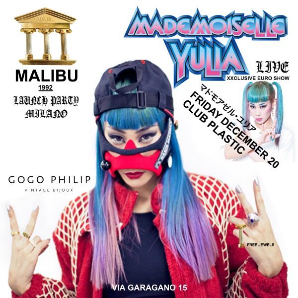 mademoiselle yulia flyer fronte
