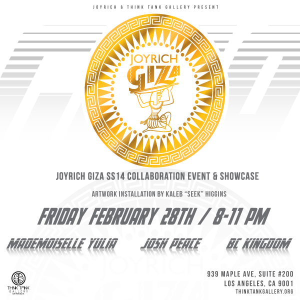 GIZA EVENT FLYER